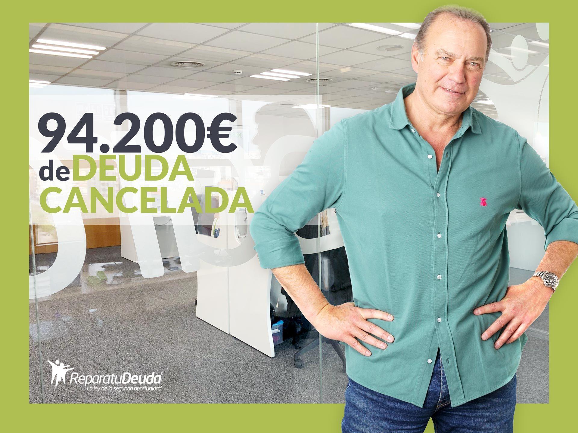 Repara tu Deuda abogados cancela 94.200 € en Sabadell (Barcelona) con la Ley de Segunda Oportunidad