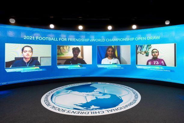 """Football for Friendship sortea los equipos del """"Football for Friendship eWorld-Championship"""" de este año"""