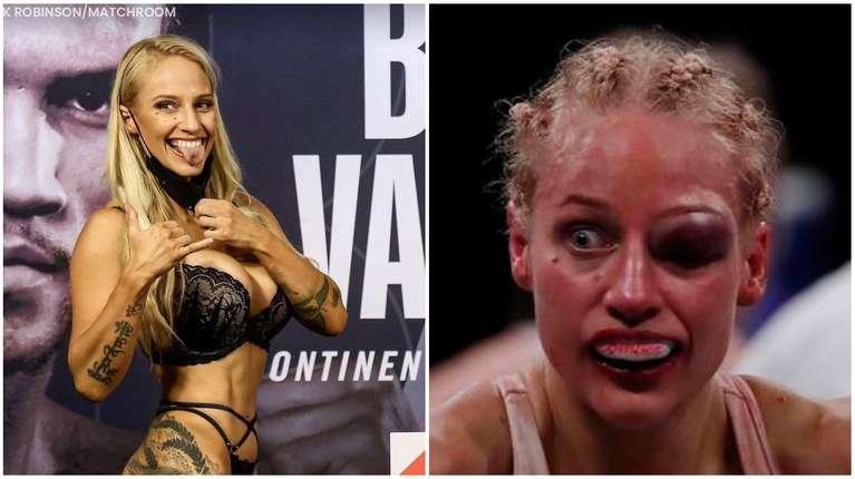 La boxeadora Ebanie Bridges se pesó en bragas para pelear, porque estaba invicta, y perdió el combate