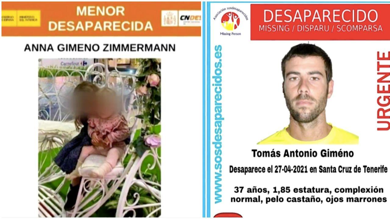 La Guardia Civil investiga como secuestro la desaparición de dos menores en Tenerife
