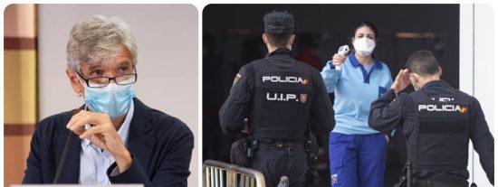 """El chantaje de la Generalitat de Cataluña: """"Vacunaremos a agentes de Policía y Guardia Civil pero eso nos hace retrasar a los mayores de 70 años"""""""