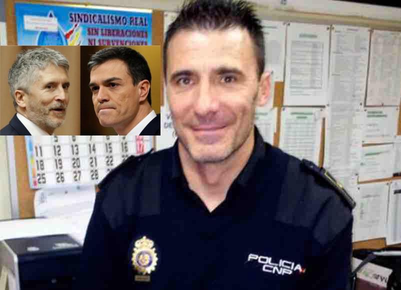Marlaska castiga y arruina al inspector de Policía que denunció a Echenique