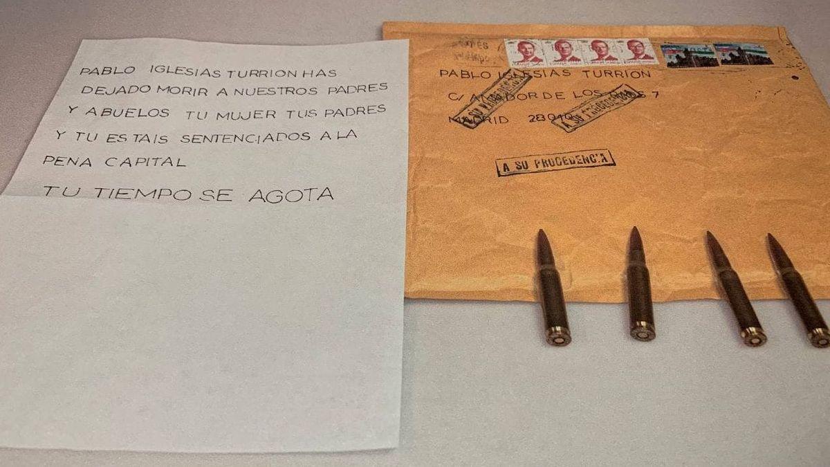 Notable exalcalde y dirigente del PP aporta 'pruebas': la bala y amenazas a Iglesias son falsas