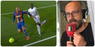 """El locutor de RAC 1, como un hincha desaforado del Barcelona contra Gil Manzano: """"¡Qué sinvergüenza!"""""""