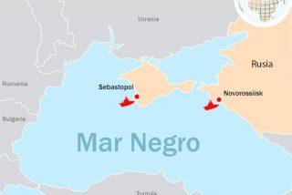 Rusia bloquea por 6 meses el paso de buques de guerra y otros navíos extranjeros en tres zonas del Mar Negro