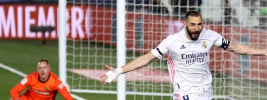 El Real Madrid despega y golea 6-1 al Mallorca
