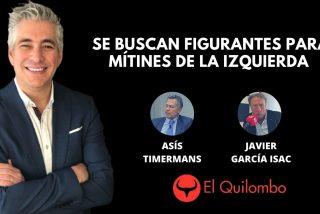 El Quilombo: Se buscan figurantes para llenar los mítines de la izquierda