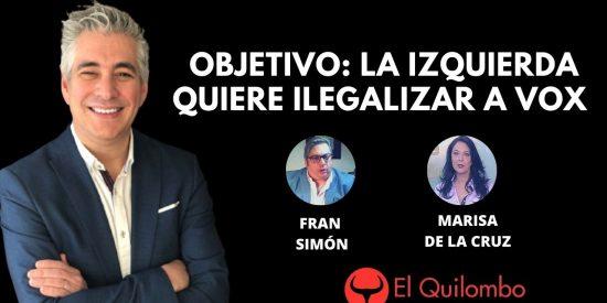 """El Quilombo: Ana Pastor le escribe el guion a Gabilondo: """"¿Usted quiere ilegalizar a VOX?"""""""
