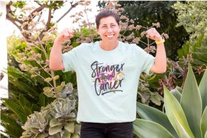 La tenista Carla Suárez vence al linfoma de Hodgkin