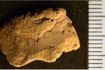 Arqueólogos hallan una huella dactilar de 5.000 años