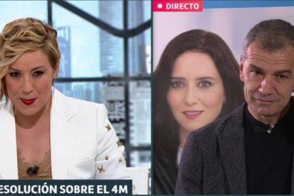 Toni Cantó se merienda a Cristina Pardo en la entrevista-emboscada de LaSexta