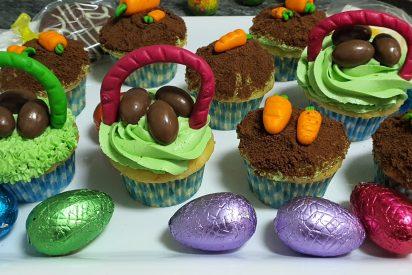 Receta: Cupcakes de Pascua