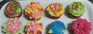 Receta: cupcakes de flores para el Día de la Madre