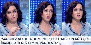 """Isabel Díaz Ayuso 'desayuna' Sánchez en Antena3: """"¡Miente y no deja de mentir!"""""""