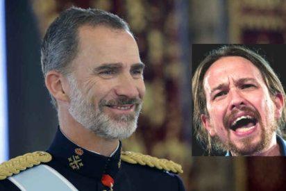 Un histérico Pablo Iglesias acusa a Casa Real de convivir con el 'fascismo'