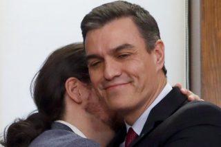Confirmado oficialmente: lo de Pedro Sánchez y Pablo Iglesias es amor