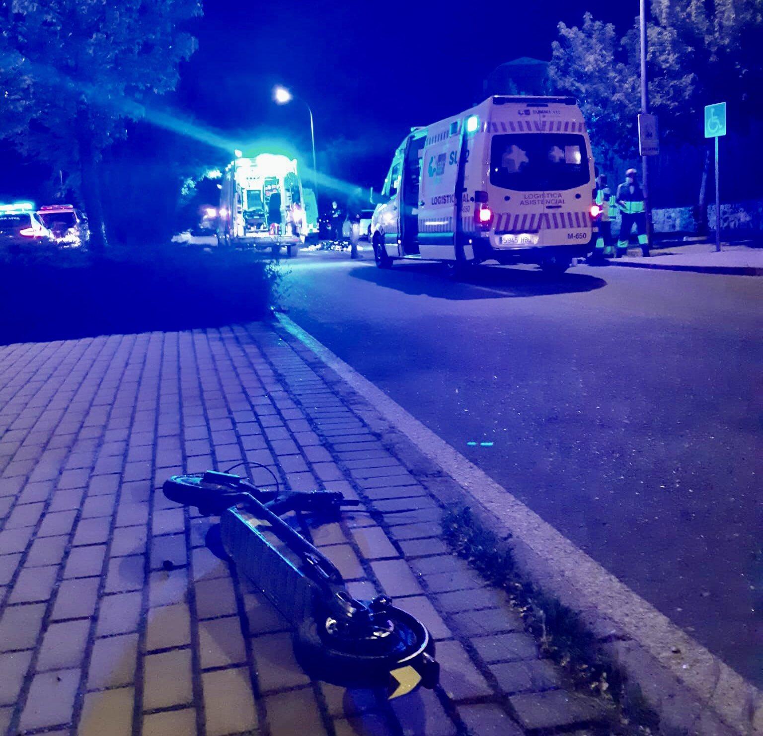 Muere atropellado un chico de 16 años, cuando cruzaba con patinete un paso de peatones