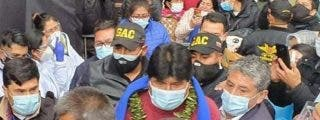 Bolivia: los escoltas de Evo Morales visten uniformes de la dictadura chavista