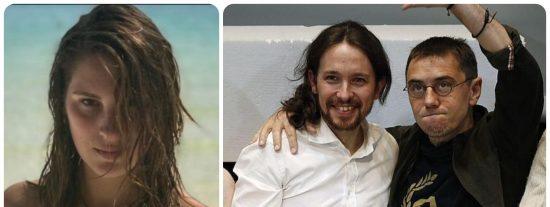 El grotesco silencio de la 'Brunete Pedrete' sobre la acusación de acoso sexual de Iglesias y Monedero a una alumna
