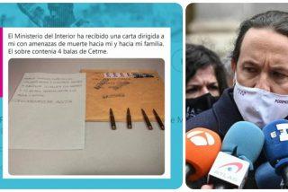 Una agrupación de la Policía acusa a Iglesias de obstruir las pesquisas sobre las cartas con balas