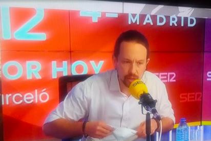 """Anián Berto: """"El candidato Iglesias provoca el escándalo en la Ser y abandona el debate. Detrás le siguieron sus aliados de izquierda"""""""