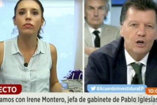 Cuando Alfonso Rojo pilló a Irene Montero mintiendo como una bellaca