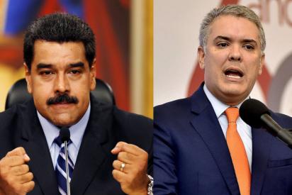 """Maduro invita a inversionistas colombianos y Duque le zarandea: """"Que no pretenda el dictador borrar la historia"""""""