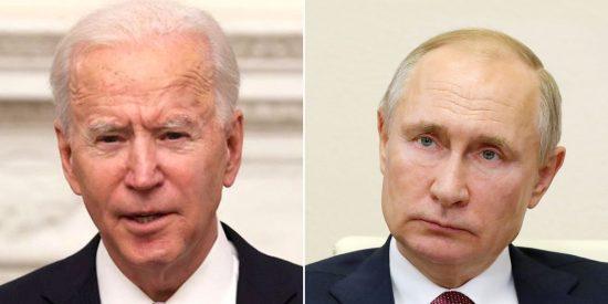 """Vladimir Putin presume de una reunión con Joe Biden """"sin ninguna hostilidad"""""""