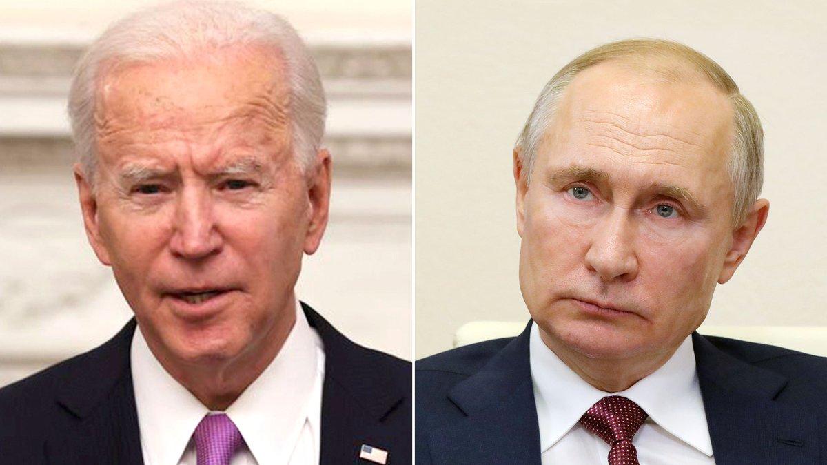 Biden llama por el 'telefono rojo' a Putin y le pide que Rusia no ataque a Ucrania