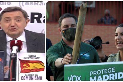 """Losantos: """"Lo grave de la agresión a VOX es que estuvo programada por el Gobierno Sánchez"""""""