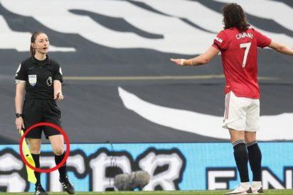 TV: Los ayatolas cortan 100 veces el partido Tottenham-Manchester United para no mostrar las piernas de la linier