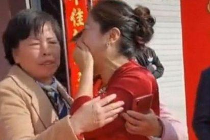 El momento en que la suegra descubre en la boda de su hijo que su nuera es la hija que perdió hace 20 años