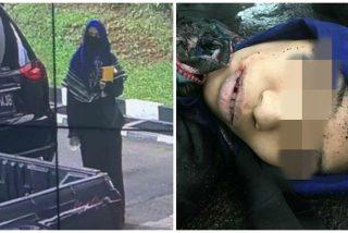 El instante en que matan a tiros a esta terrorista islámica