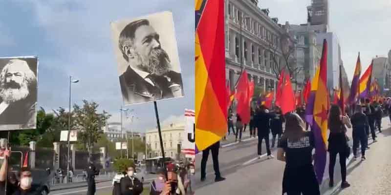 """Un venezolano revienta el aquelarre republicano en Madrid: """"Vénganse a Caracas, aquí es fácil ser comunista, gilipollas"""""""