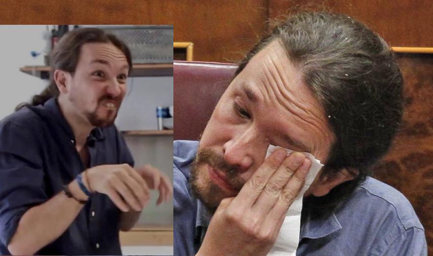 """La puntilla a Pablo Casado (o """"Pablo Casado, eres nuestra única esperanza"""" 2.0) Pablo-Iglesias-llora-porque-le-llaman-rata"""