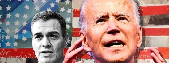 La trola de Sánchez sobre su 'paseito' con Biden: En 29 segundos hablamos de Defensa, Latinoamérica y agenda progresista