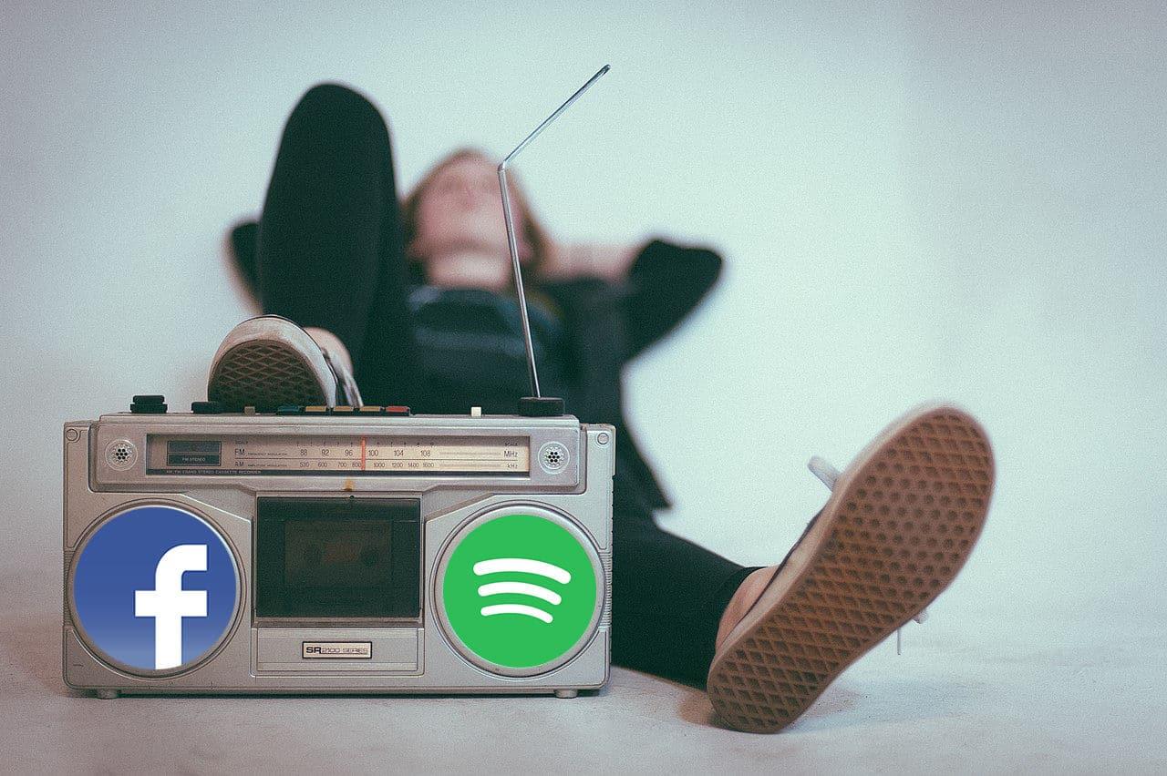 Facebook 'sube el volumen' con la integración de Spotify a su app