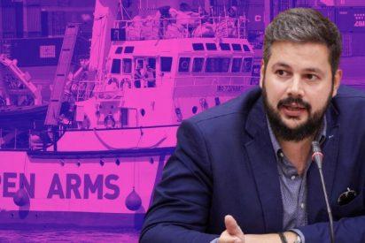 """Rubén Pulido desmonta los falsos naufragios del 'Open Arms': """"Es puro marketing y politización del dolor"""""""