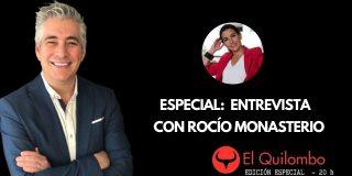 """El Quilombo: Luis Balcarce entrevista a Rocío Monasterio: """"¿Vamos a seguir gastando 4.700 euros al mes en cada MENA?"""""""