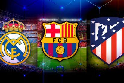Podemos pide expulsar a Real Madrid, Barcelona y Atlético de la Liga española de fútbol