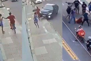 Las desventuras del ladrón de teléfonos móviles que atracaba en bicicleta