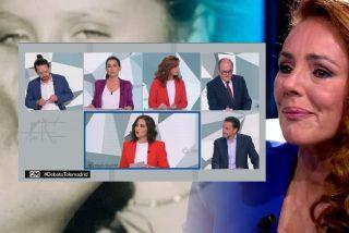 Rocío Carrasco se come con patatas a Iglesias, Gabilondo y a toda la audiencia del debate 4-M