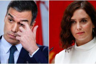 """Ayuso replica a Sánchez por dudar de los contagios en Madrid: """"Cree el ladrón que todos son de su condición"""""""