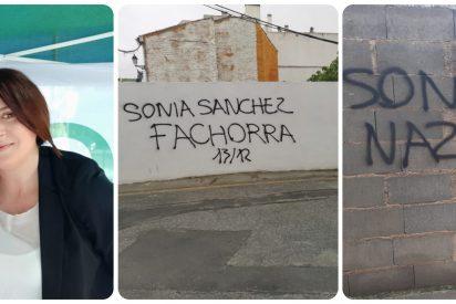 """Sonia Sánchez, concejal de VOX en un pueblo de Granada, en la diana de los facinerosos: """"¡Nazi fachorra!"""""""
