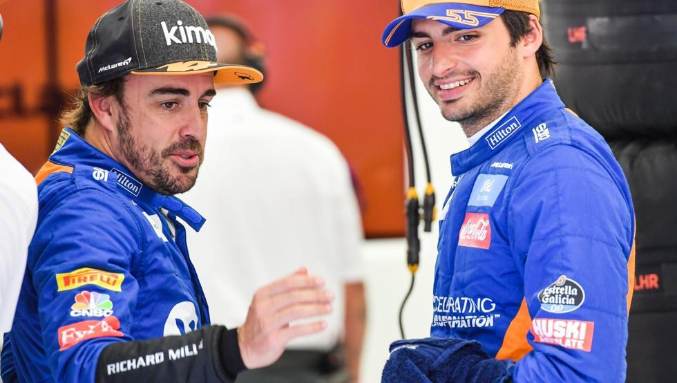 Los españoles Sainz y Alonso asaltan el 'top 5' de la primera jornada de la Fórmula 1