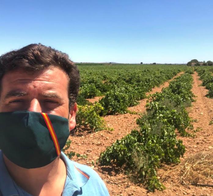"""Ricardo Chamorro Delmo: """"VOX registra una Proposición No de Ley en el Congreso para salvar al sector del vino"""""""