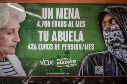 VOX denuncia que el Gobierno Sánchez gasta 10 veces más en un MENA marroquí que en una viuda española