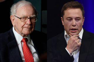 El millonario Elon Musk vuelve a cargar contra el millonario Warren Buffett