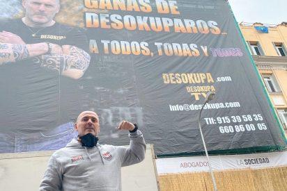 """La nueva 'amenaza' a Podemos: """"Tic, tac, Pablito... Ganas de desokuparos a todos, todas y todes"""""""
