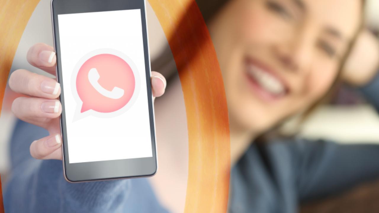 La peligrosa versión del WhatsApp Rosa que infecta los móviles
